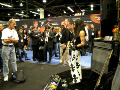 Ethan Brosh - Blade Runner NAMM 2009 (NADY Booth) Please watch in high quality!