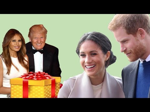 Trump and Melania's wedding gift to Prince Harry and Meghan Markle