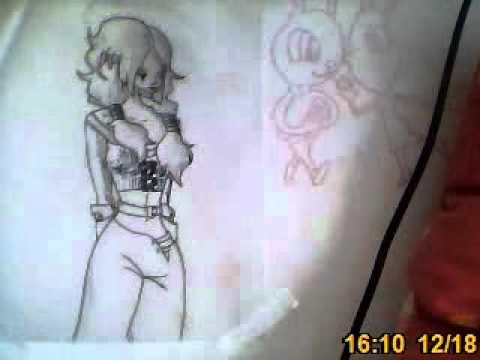 dessin simple sur mur