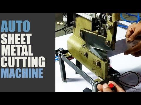 Pneumatic Automatic Metal Sheet Cutting Machine Aluminium MS Cutting