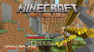 Minecraft Xbox [12] - Shoot the Animals off the Cliff Game