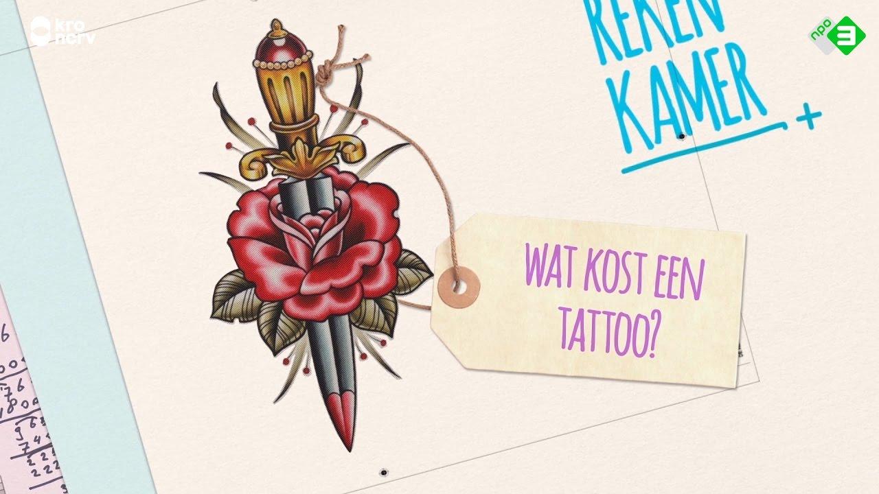 Wat kost een tattoo de rekenkamer youtube for Wat kost een professionele behanger