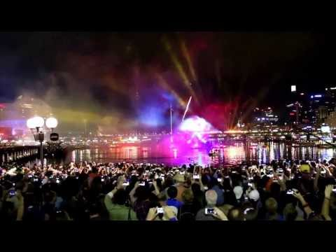 Australia Day Darling Harbour Fireworks 2014