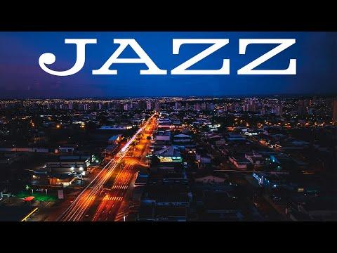 Smooth JAZZ - Night City Traffic JAZZ for Calm - Saxophone JAZZ
