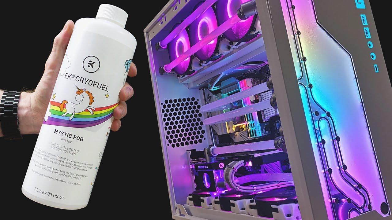 RGB Enhancing Coolant!! EK-CryoFuel Mystic Fog Build