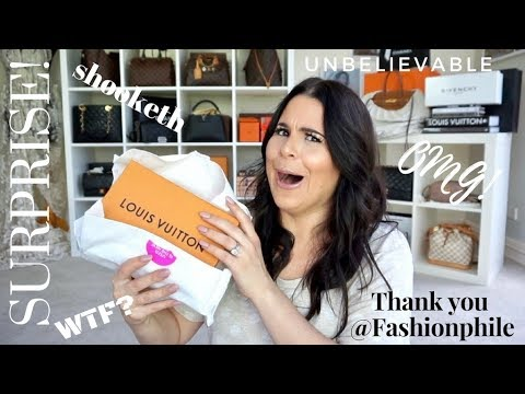 Surprise LOUIS VUITTON Unboxing @FASHIONPHILE + Giveaway WINNER!! - 동영상