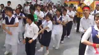 flash mob of ICC T20 world cup 2014 performed by LGIS (Final editing) HD.