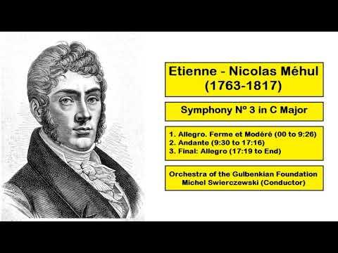 Etienne Nicolas Mehul (1763-1817) - Symphony Nº 3 in C Major