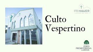 02/05/2021 - Culto Vespertino - Rev. Elizeu Eduardo - #live