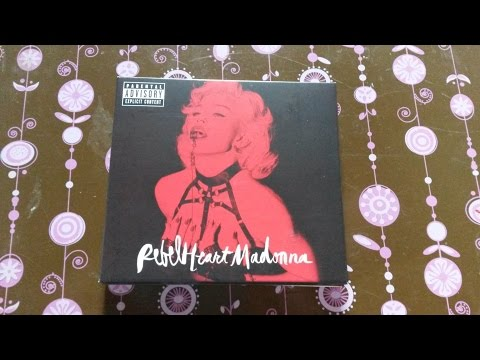 [Unboxing] Madonna Rebel Heart (Super Deluxe Edition)