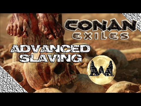 CONAN EXILES: EP8 ALL THE NAMED TIER 4 THRALLS!! BLACK HAND TIER 3 THRALLS!!