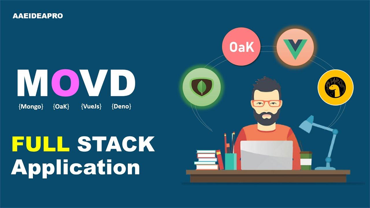 MongoDb Oak Vuejs Deno (MOVD Stack) - CRUD - Contact List using Bootstrap