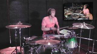 The Power of Love - DRUM COVER - Huey Lewis & The News