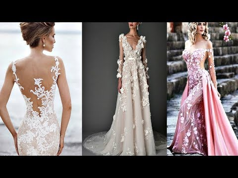 Самые красивые выпускные платья и свадебные платья в мире 2018 № 1