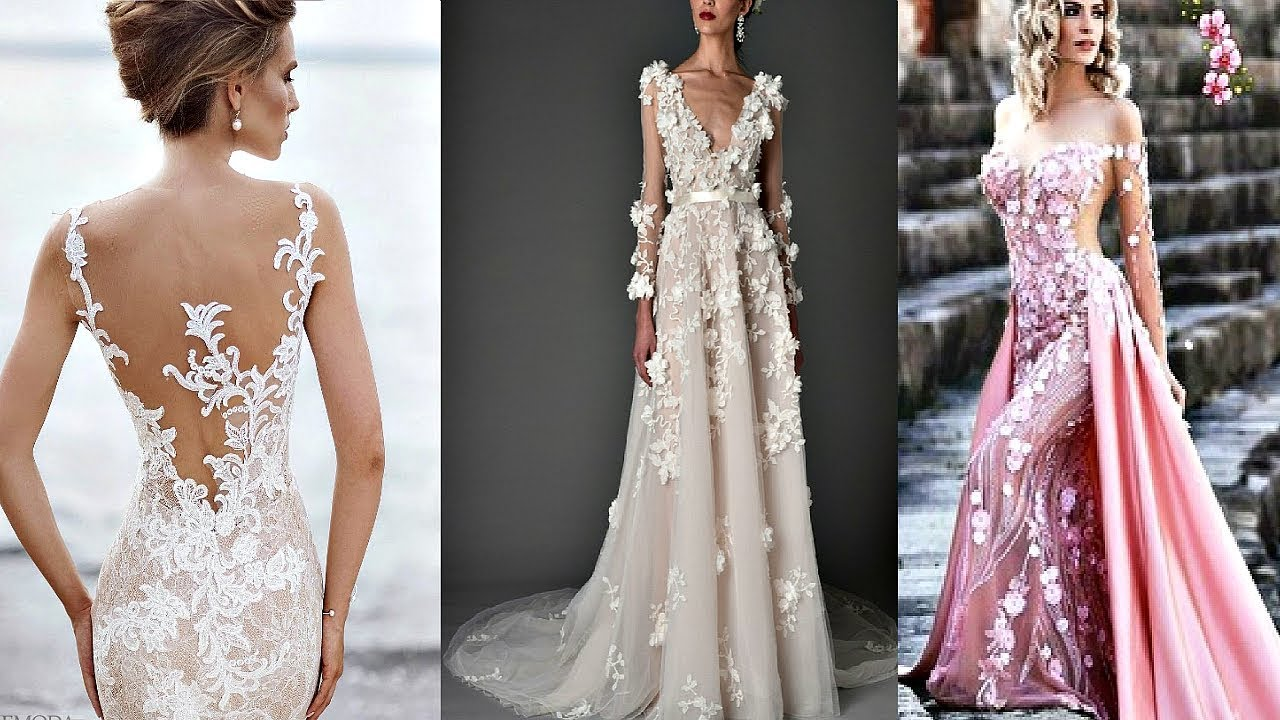 9ac1fbf20fcba34 Самые красивые выпускные платья и свадебные платья в мире 2018 № 1 ...