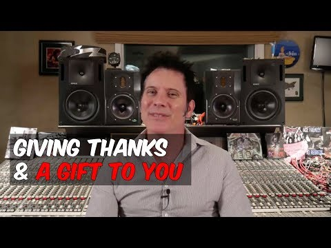 Giving Thanks and a Gift to You  - Warren Huart: Produce Like A Pro