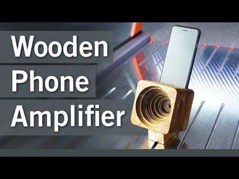 Wooden Phone Amplifier /// Holz Smartphone Verstärker