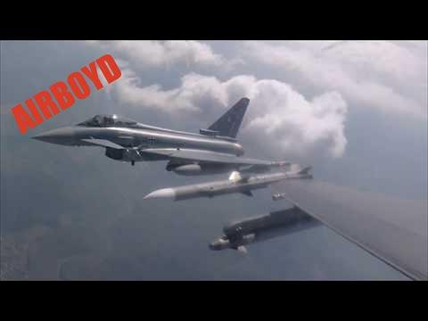 F-16s and Eurofighter Typhoon • Spangdahlem Air Base