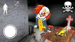 КЛОУН ПЕННИВАЙЗ МЁРТВ ФИНАЛ СОСЕД ГРЕННИ - Clown Neighbor 2 Granny Escape