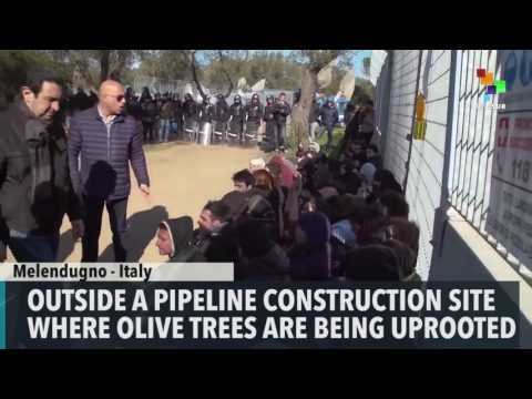 Italian Police and Protesters Clash over Pipeline