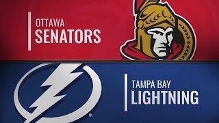 Тампа-Бэй vs Оттава | Ottawa Senators at Tampa Bay Lightning | NHL HIGHLIGHTS | НХЛ ОБЗОР МАТЧА