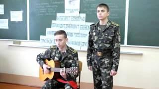 Виступ на відкритому уроці української літератури 10-А 2014 рік