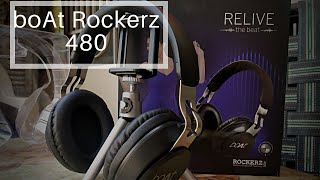 boAt Rockerz 480 Powerpack Unboxing and Review | 2019 Best Over the Ear Headphones ?