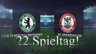 [22 Spieltag/Landesliga] VFB Fortuna Biesdorf - FC Spandau 06