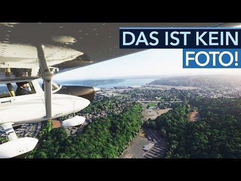 Der Flight Simulator 2020 ist unglaublich