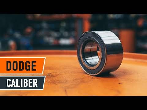 How to replace front wheel bearing DODGE CALIBER TUTORIAL | AUTODOC