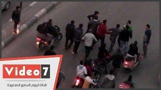 جنازة تربك حركة المرور بشارع البطل أحمد عبد العزيز
