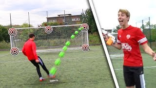 FOOTBALL TARGET FORFEIT CHALLENGES (EMBARRASSING) Video