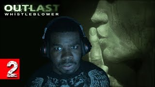 Outlast Whistleblower Scary Game Walkthrough Part 2 - Man - Eater - Outlast Gameplay Black Guy