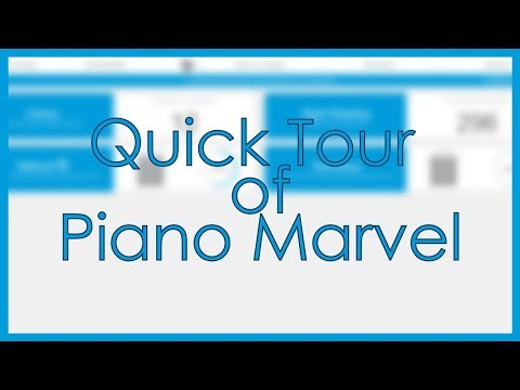 Piano Marvel Overview