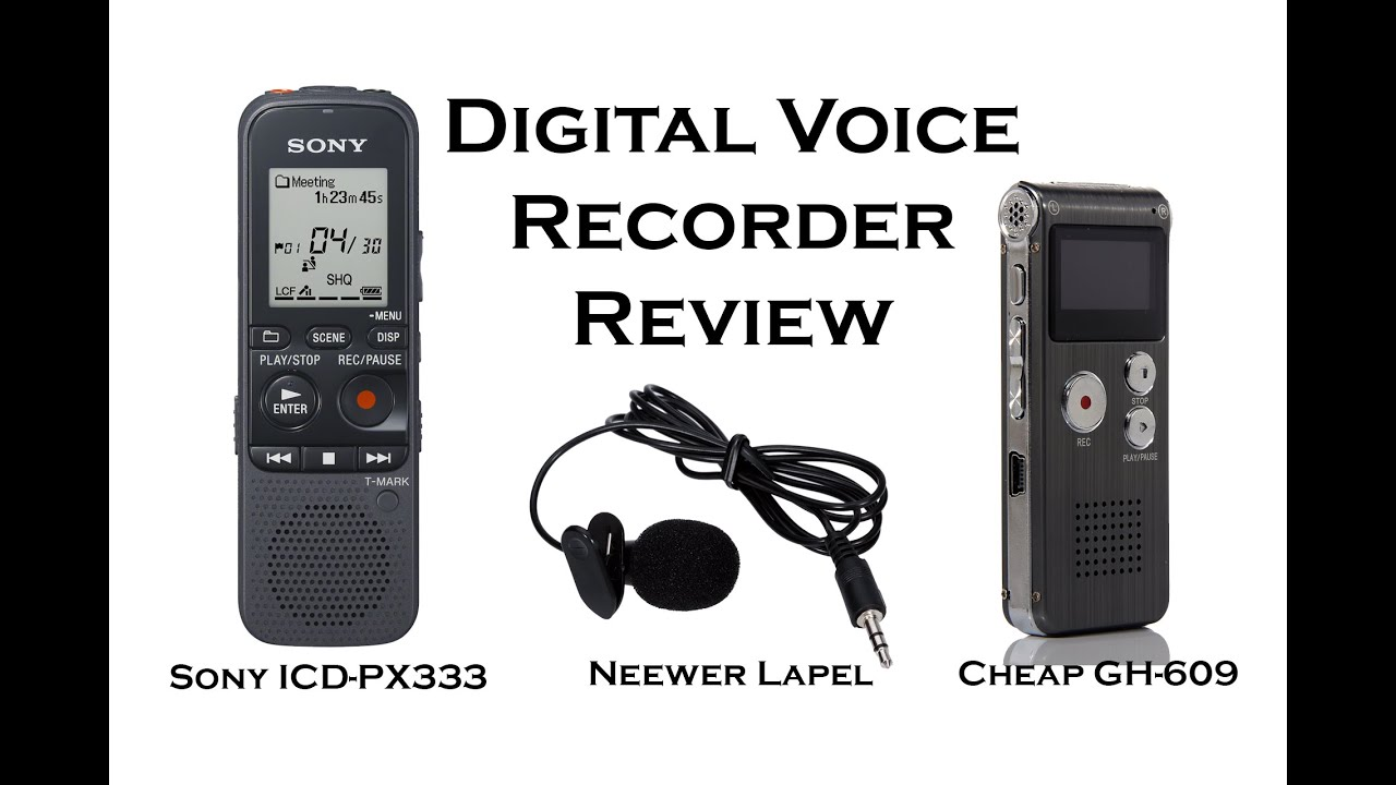 Digital Voice Recorder Review