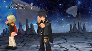 DFFOO GL (Blackened Will - Calamity Unleashed COSMOS)  Ace, Aerith, Noctis
