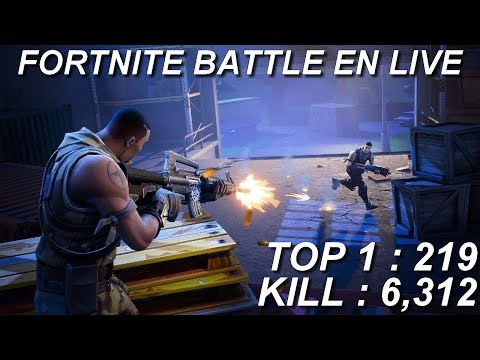 [FR/PC/LIVE] Fortnite  en solo 215 wins!