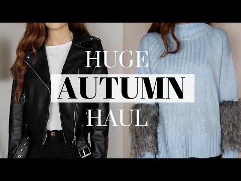 HUGE AUTUMN HAUL 2017 + TRY ON | Zara, Acne, Asos & More!
