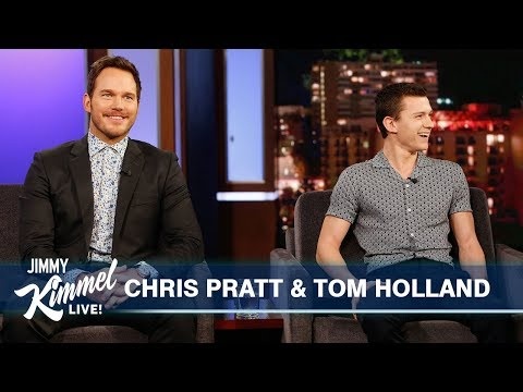 tom-holland-surprises-chris-pratt
