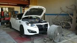 LAP3-Pross Tuned 2012 Kia Optima SX 2.2T Dyno Run