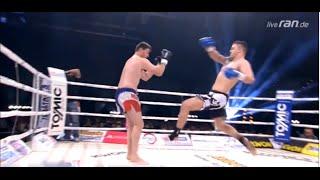 Schnellster K.o. Kick der Welt - Worlds fastest K1 knockout