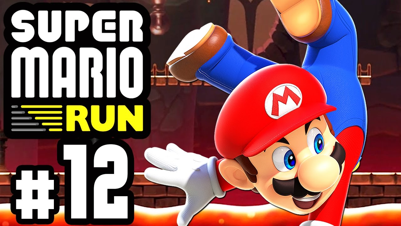 Super Mario Run 12 Endspurt Die Letzten Schwarzen Münzen