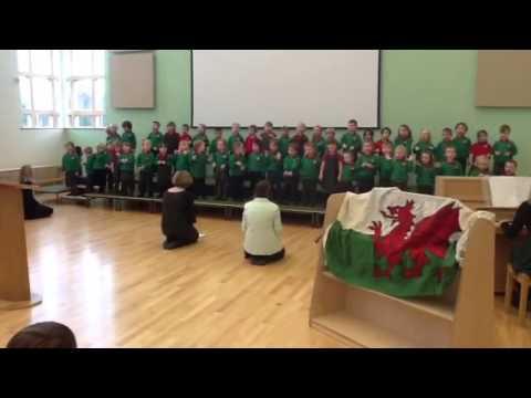 Christmas songs from Ysgol Bro Alun
