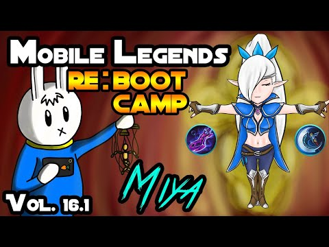 MIYA : PROJECT NEXT - TIPS, ITEMS, EMBLEMS, AND GUIDE - MGL MOBILE LEGENDS RE:BOOT CAMP VOLUME 16.1