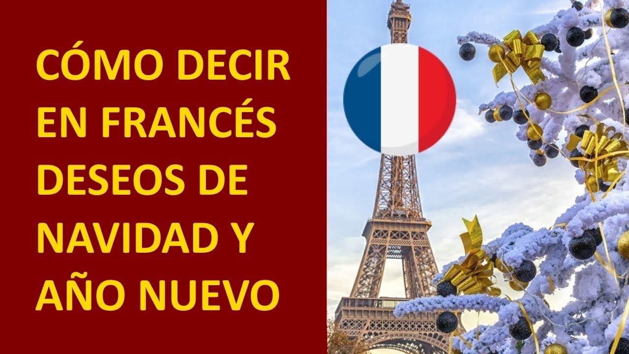 FRANCÉS: Cómo enviar saludos de Navidad y Año nuevo en francés / Clase de Francés