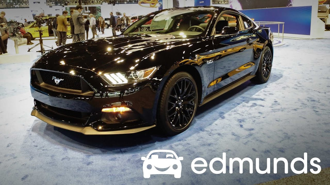 2017 Ford Mustang Review Features Rundown Edmunds