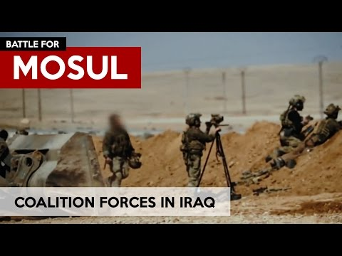 Battle for MOSUL Coalition forces in Action