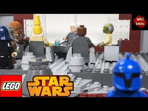 LEGO STAR WARS Chancellor Palpatine's Office MOC (I AM THE SENATE)