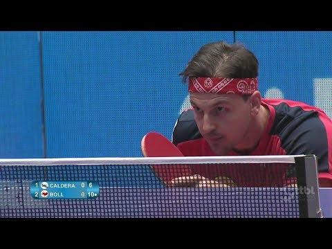 Timo Boll vs Hugo Calderano (German League 2018) Final