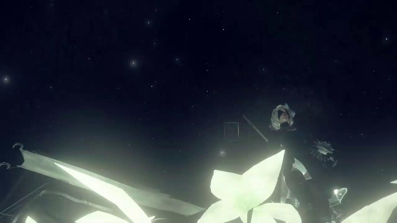Nier Automata Field Of Lunar Tears Youtube